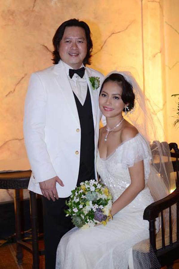 Đám cưới của diễn viên Hải Yến diễn ra vào năm 2012.