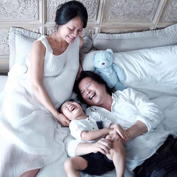 Gia đình hạnh phúc của nàng Pao Đỗ Hải Yến.