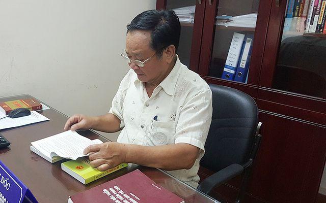 Nguyên thẩm phán Nguyễn Ngọc Liên.