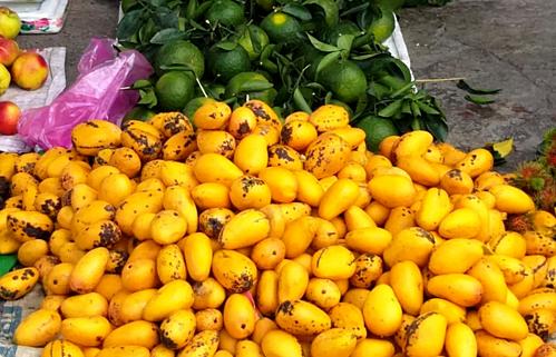 Ba loại quả hàng Trung Quốc tràn ngập chợ đang hút khách Việt ham rẻ - Ảnh 3.