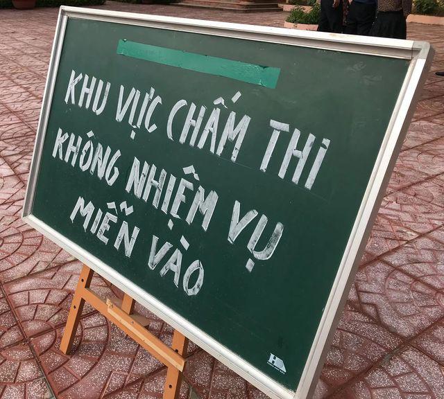 Khu vực chấm thi THPT quốc gia của Sơn La.