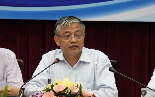 Ông Doãn Mậu Diệp - Chủ tịch Hội đồng tiên lương quốc gia phát biểu khai mạc.
