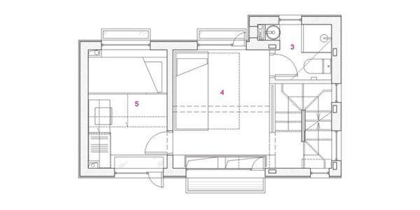 Sơ đồ thiết kế tầng 2