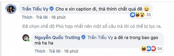 Hoa Hậu Việt Nam 2018 Trần Tiểu Vy đã ngay lập tức dính thính của anh chàng