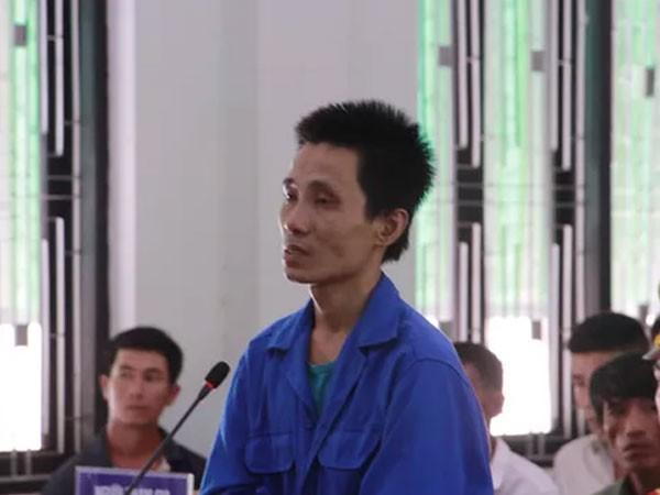 Nguyễn Văn Việt tại phiên tòa xét xử