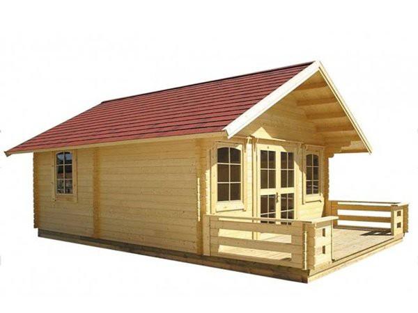 Trên trang Amazon đang bán kiểu nhà tự lắp ghép phù hợp cho kiểu cabin nghỉ dưỡng.