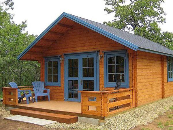 Người mua có thể dựng nhà trên nền sỏi hoặc bê tông để giúp chắc chắn