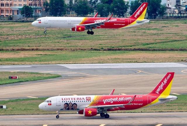 Tỷ lệ chậm chuyến của 3 ông lớn hàng không Việt đều tăng - Ảnh 3.