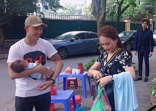 Cảnh Dũng bế cu Bon hộ Thư khiến nhiều người đoán già đoán non về kết phim.