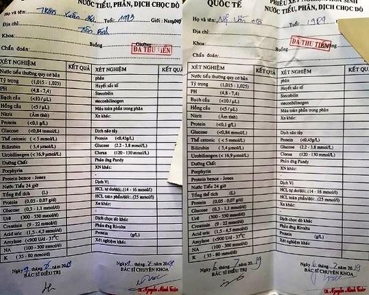 Những bệnh án được nhân bản cùng chữ ký khống tại PKĐK Quốc Tế