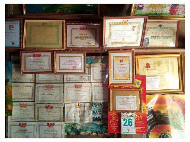 Kết quả học tập của Minh suốt 12 năm học