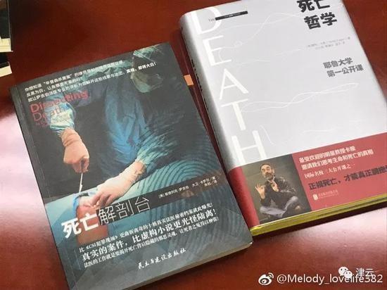 Hai cuốn sách Chu đã mua có nhiều tình tiết tương đồng với hành vi giết vợ của hắn. Ảnh: Weibo.