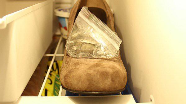 Vợ tiện tay để giày vào ngăn đá, chồng định mắng thì vỡ òa thấy thành quả sau 1 đêm - Ảnh 2.