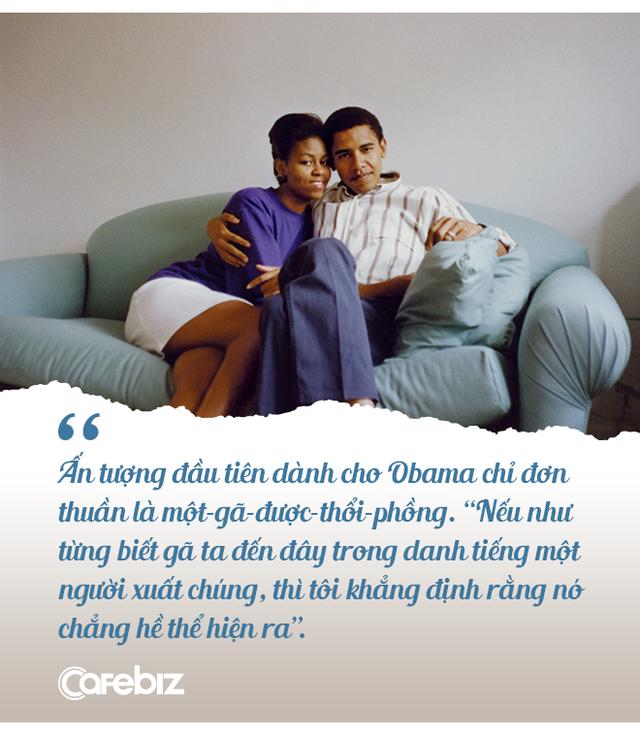 """Chuyện tình cựu Tổng thống Obama: Từ """"gã – được – thổi – phồng"""" đến ông chủ Nhà Trắng và công cuộc tán tỉnh công phu của những người có EQ cao - Ảnh 2."""