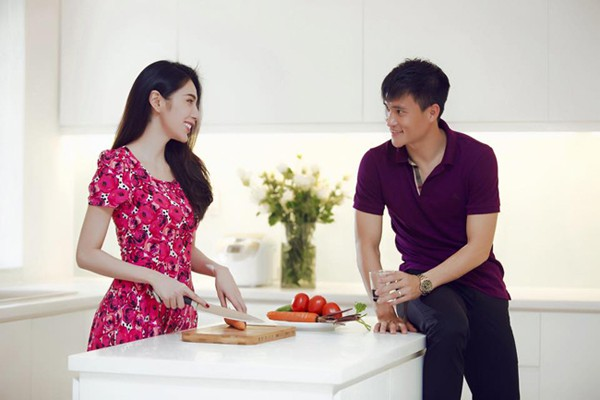 Thủy Tiên: Sau hào quang sân khấu là người vợ đảm bên căn bếp - Ảnh 4.