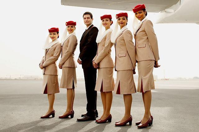 """Emirates có trụ sở tại Dubai. Hãng này chiêu mộ nhân viên từ khắp thế giới với trung tâm đào tạo tại sân bay chính của UAE. Đội ngũ tiếp viên của hãng này cũng được xem là các """"hot girl"""" trên mạng xã hội. Ảnh: Emirates."""