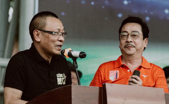 """""""Ông trùm"""" Phan Quân đưa quân đá giao hữu bóng đá gây quỹ từ thiện tại Quảng Ninh - Ảnh 2."""