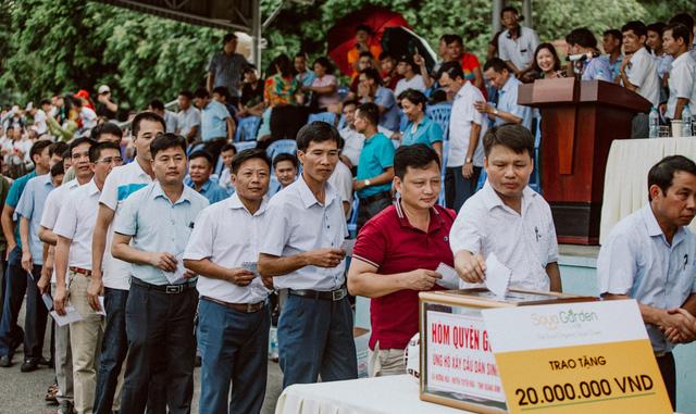 """""""Ông trùm"""" Phan Quân đưa quân đá giao hữu bóng đá gây quỹ từ thiện tại Quảng Ninh - Ảnh 8."""