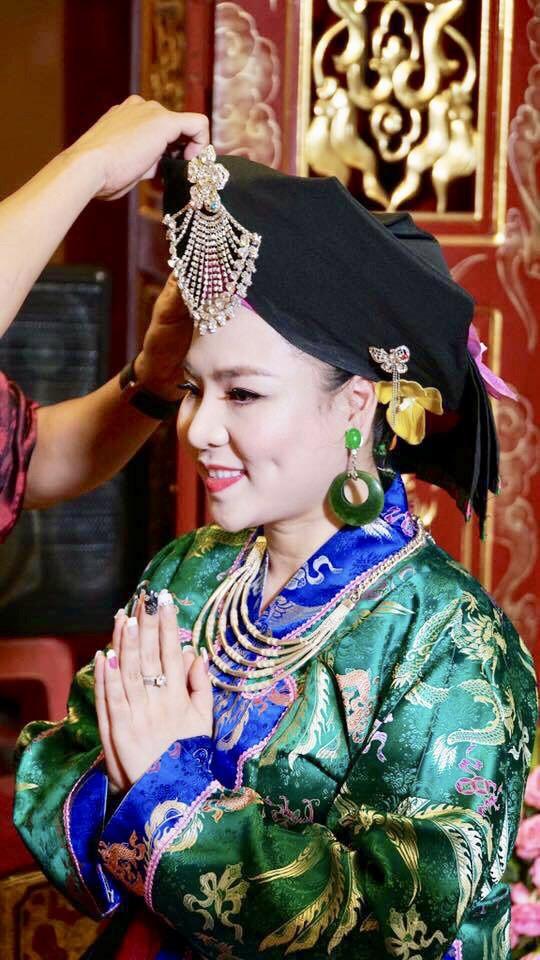Nữ hoàng văn hóa tâm linh vốn là một thanh đồng