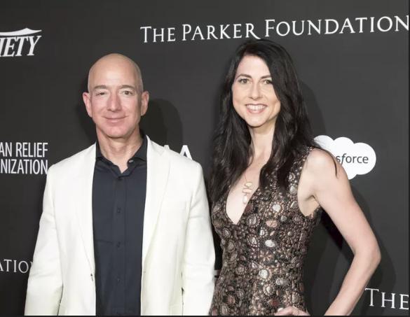 Vợ chồng tỷ phú Amazon ly hôn trong êm đẹp.
