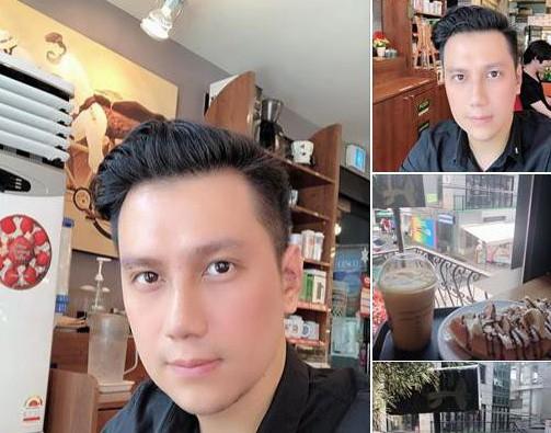 Diện mạo mới của diễn viên Việt Anh.