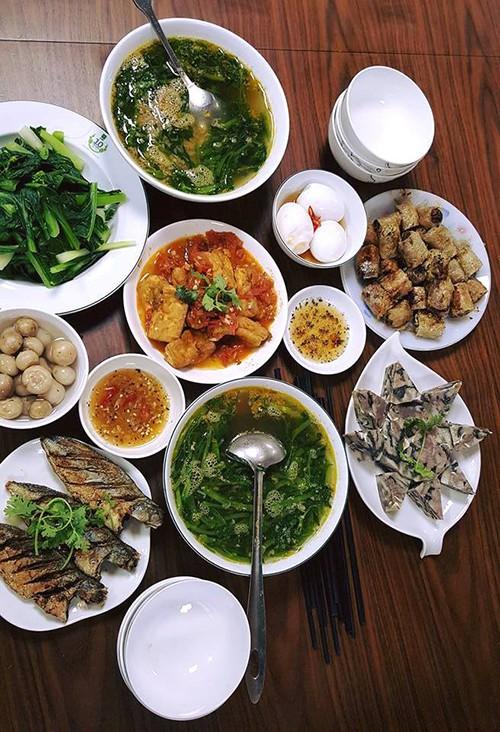 Những mâm cơm nấu trong một tiếng của Kiwi Ngô Mai Trang - Ảnh 7.