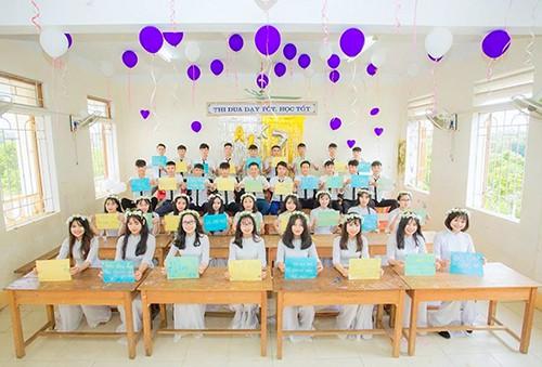 Lớp học ở miền núi Hà Tĩnh có 100% học sinh đỗ đại học - Ảnh 1.
