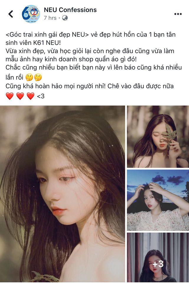 Vừa là tân sinh viên, hot girl Quảng Bình đã thành tâm điểm chú ý - Ảnh 1.