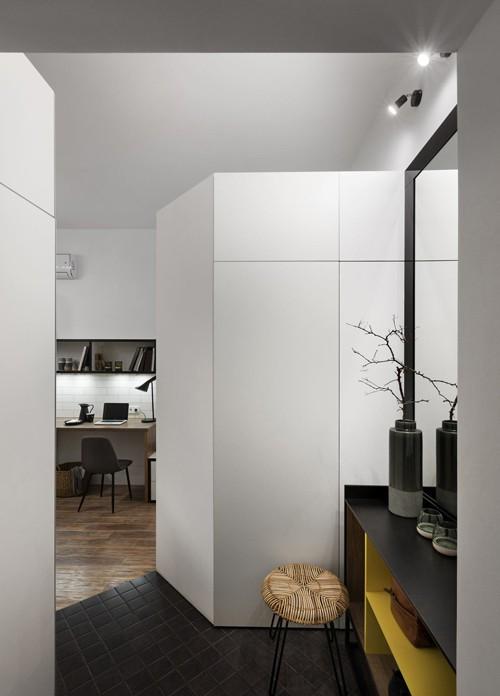Căn hộ 17 m2 đủ tiện nghi mà vẫn thoáng đẹp khiến nhiều người khâm phục - Ảnh 8.