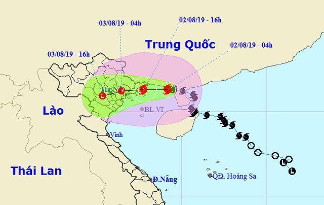 Tin mới nhất về cơn bão số 3 đang tràn vào miền Bắc - Ảnh 1.