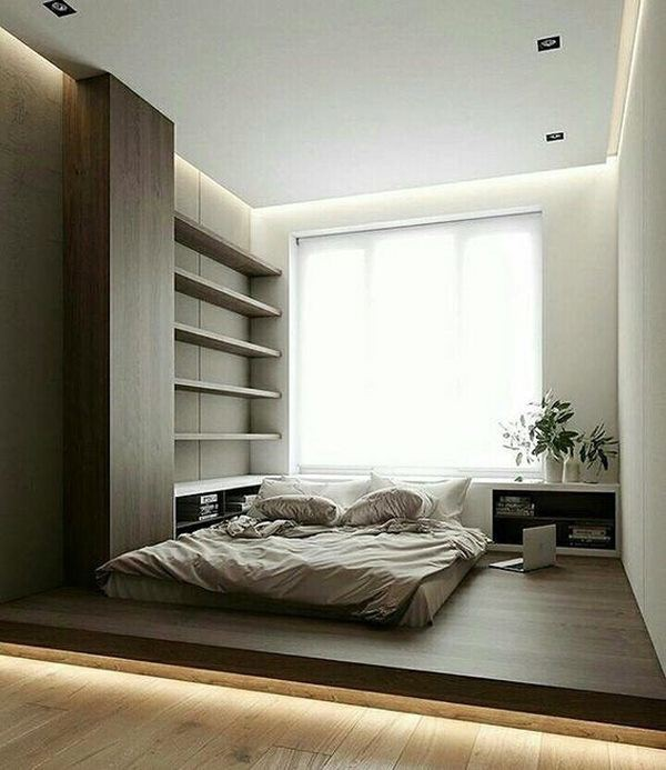 Phòng ngủ nổi bật cho nhà phố hẹp nhờ biến tấu cổ điển và cây xanh - Ảnh 1.