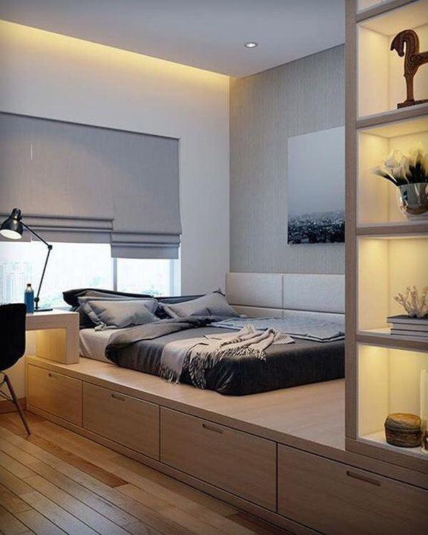 Phòng ngủ nổi bật cho nhà phố hẹp nhờ biến tấu cổ điển và cây xanh - Ảnh 2.