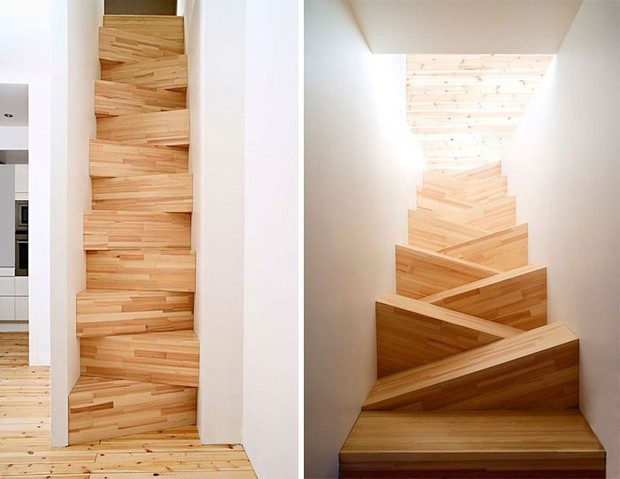 Những chiếc cầu thang sai trái nhất hành tinh, khuyên bạn đừng bao giờ thử nếu như không muốn gặp nguy hiểm - Ảnh 1.