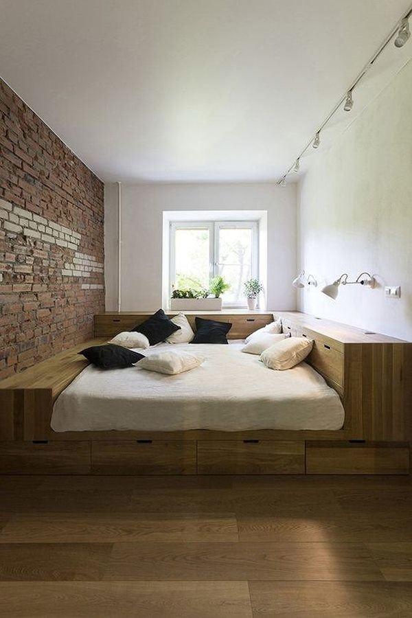 Phòng ngủ nổi bật cho nhà phố hẹp nhờ biến tấu cổ điển và cây xanh - Ảnh 3.