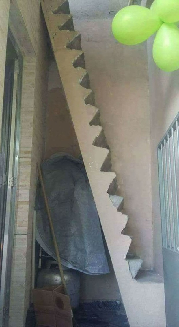 Những chiếc cầu thang sai trái nhất hành tinh, khuyên bạn đừng bao giờ thử nếu như không muốn gặp nguy hiểm - Ảnh 3.