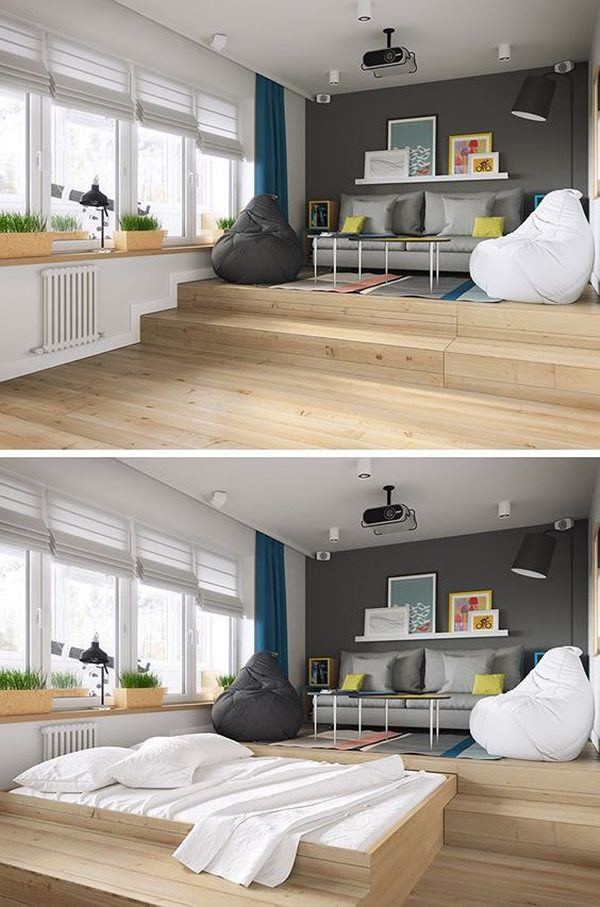 Phòng ngủ nổi bật cho nhà phố hẹp nhờ biến tấu cổ điển và cây xanh - Ảnh 4.