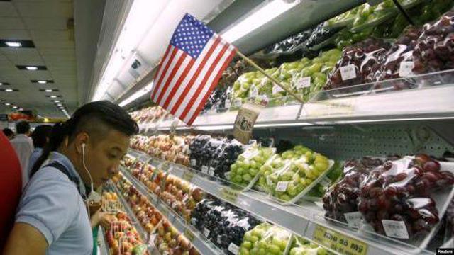 Thương chiến kéo tụt giá cherry: Hàng Mỹ hay đồ Trung Quốc? - Ảnh 1.