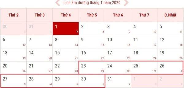 Tết Dương lịch 2020 dự tính được nghỉ mấy ngày? - Ảnh 1.