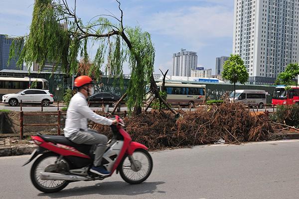 Rác tràn lan trên con đường có cảnh quan đẹp vào loại bậc nhất của Thủ đô - Ảnh 9.