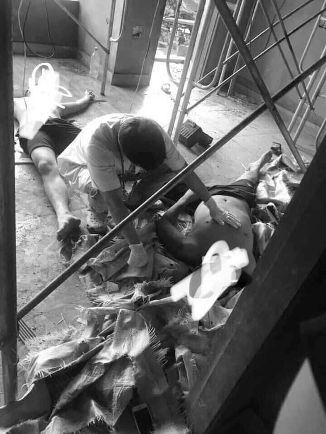 Tiết lộ nguyên nhân hai nam thanh niên tử vong khi làm trần thạch cao - Ảnh 1.