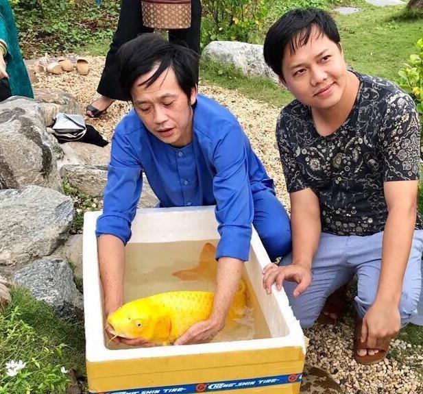 Cát Phượng: Hoài Linh nuôi cá, đặt tên là Trường Giang, Chí Tài - Ảnh 2.