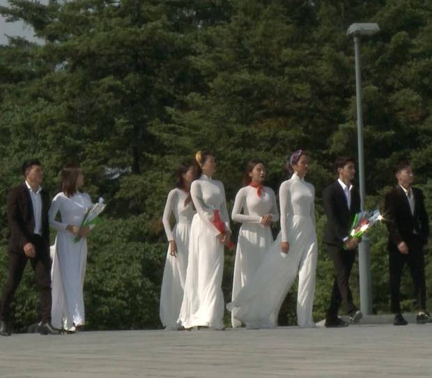 Dàn mỹ nữ Cuộc đua kỳ thú diện áo dài trắng tại Triều Tiên, Đỗ Mỹ Linh lại nổi nhất! - Ảnh 2.