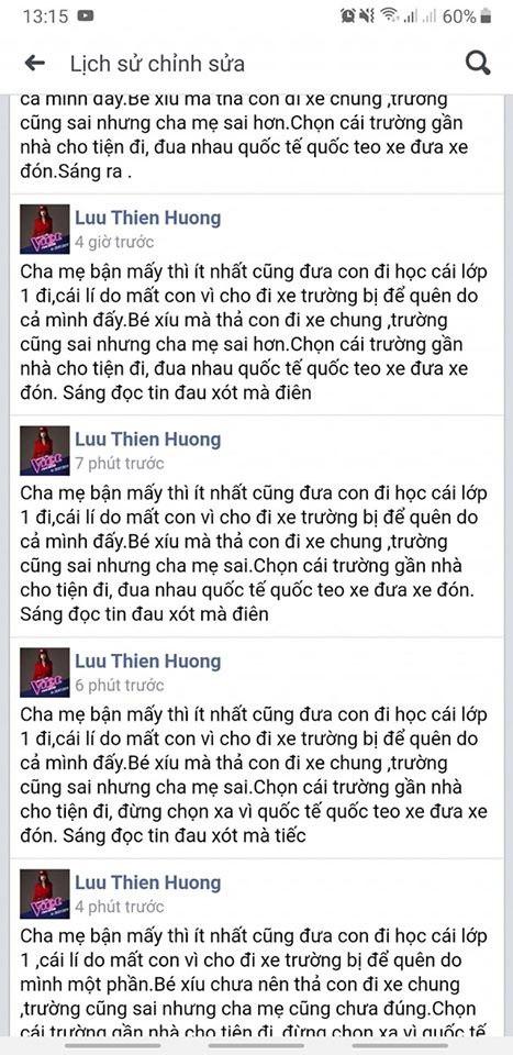 Lưu Thiên Hương gây phẫn nộ khi đổ lỗi cho cha mẹ sau vụ việc trường GateWay - Ảnh 2.