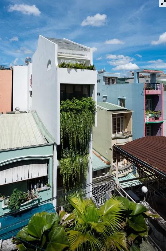 Nhà ống Sài Gòn đủ chỗ cho 4 gia đình nhỏ  - Ảnh 1.