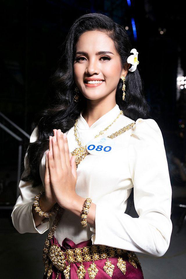 Hoa khôi Đại học An ninh hãnh diện vì có nét đẹp đặc trưng của người Khmer - Ảnh 3.