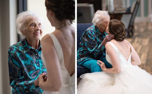 Cô dâu bí mật mang váy cưới đến gặp người bà đã gần đất xa trời, để lại câu chuyện dễ rơi nước mắt còn hơn cả cuộc chia ly của Jack và Rose trong Titanic huyền thoại - Ảnh 4.