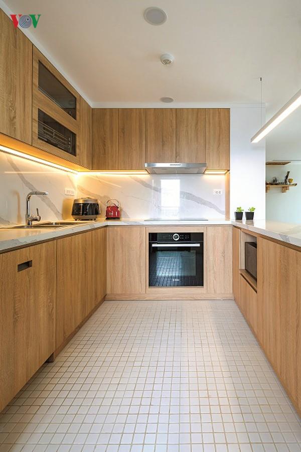 Không gian hiện đại, văn minh, tràn đầy sức sống trong căn hộ 126 m2 ở Hà Nội - Ảnh 9.