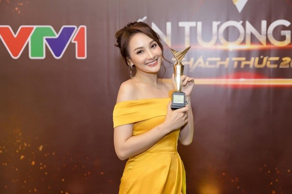 Bảo Thanh - Nhã Phương: 2 nữ diễn viên hiếm hoi 2 lần giành giải thưởng VTV Awards - Ảnh 3.