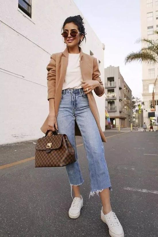 Phối áo blazer cùng quần jeans - Ảnh 12.