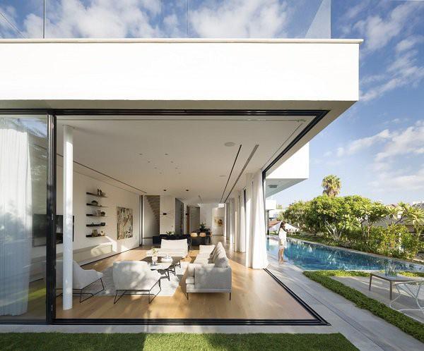Những mẫu thiết kế nhà cấp 4 mái bằng 2-3 phòng ngủ, nhà đông người nên xây - Ảnh 1.